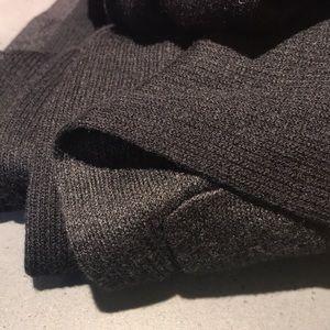 lululemon athletica Sweaters - Snuggle! Lululemon Cabin Yogi Wrap Heathered Black